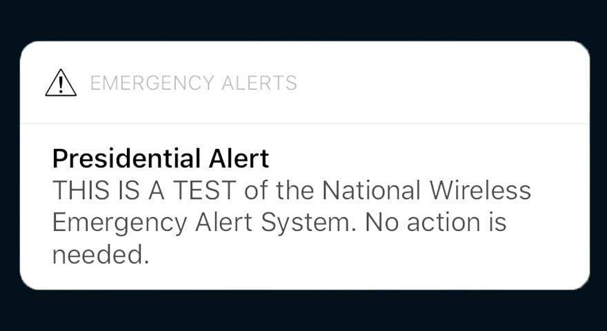 Presidential Alert Memes