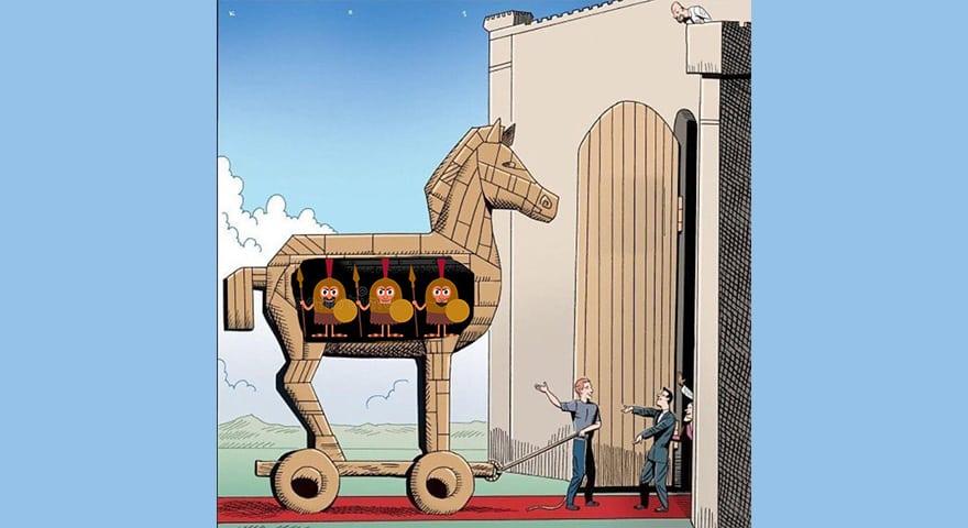 Trojan Horse Meme