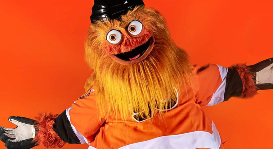 Gritty, The Orange Hockey Mascot Turned Meme