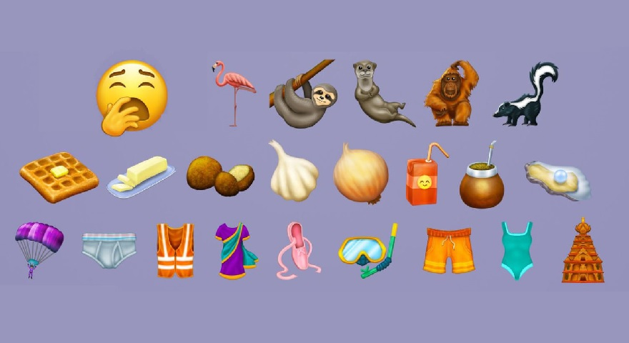 2019 New Emoji Guide – Version 12.0