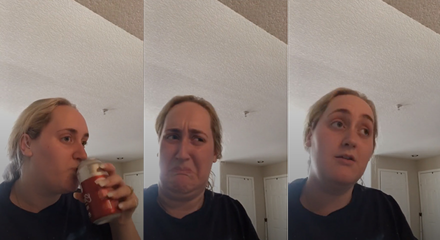 Girl Trying Kombucha Reaction TikTok Memes