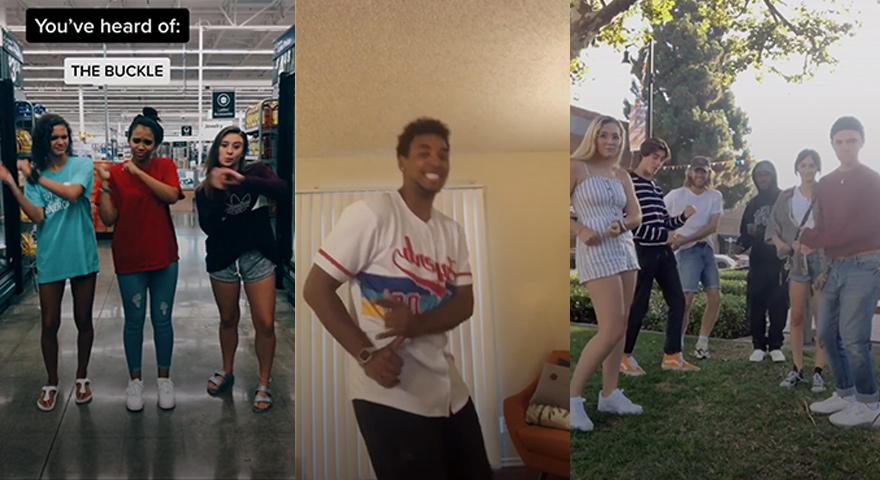 Buckle Up Dance & TikTok Memes #BuckleUp