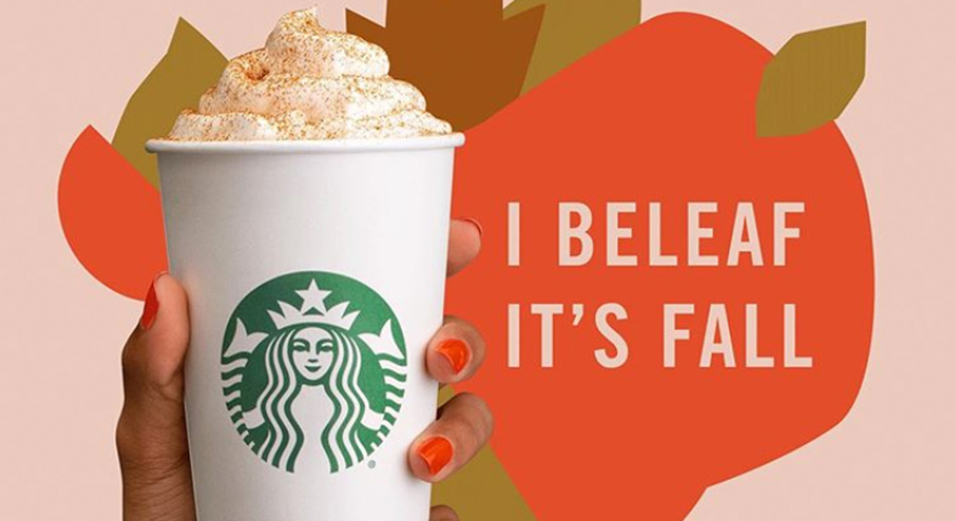 Pumpkin Spice Lattes And PSL Memes Are Back
