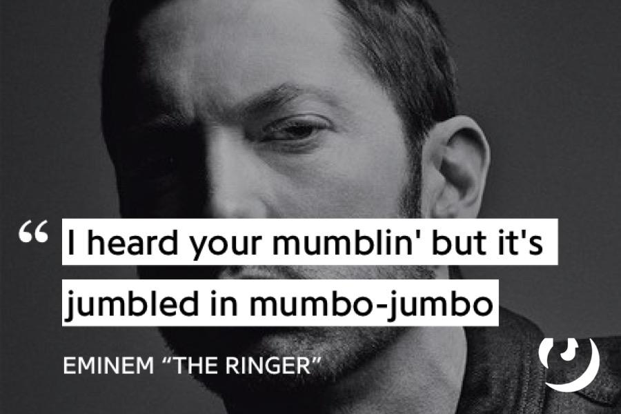 """Lyrics from Eminem's """"The Ringer"""""""