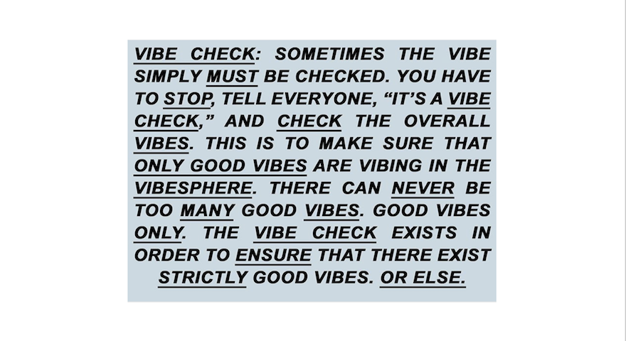 Check Your Vibes With These 'Vibe Check' Memes