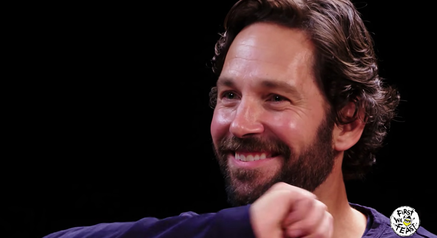 'Look At Us' Paul Rudd Hot Ones Memes