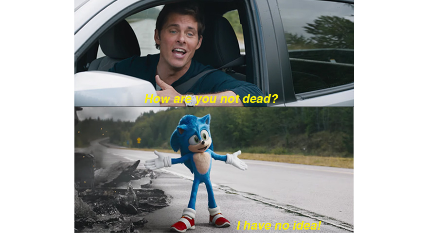 'How Are You Not Dead' Sonic The Hedgehog Memes