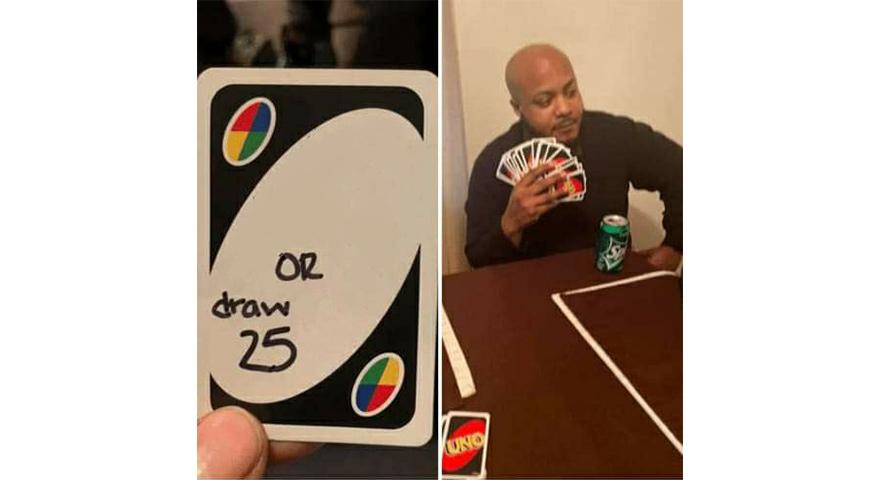 Draw 25 Uno Memes