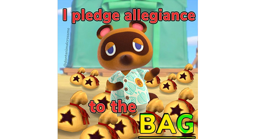 Animal Crossing New Horizons Memes Acnh Stayhipp