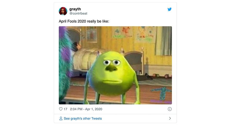 The Best April Fools Day 2020 Memes, Jokes & Pranks