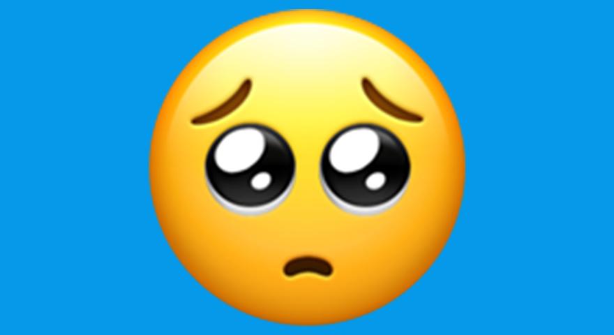 🥺 Pleading Face/Shy/Simp Emoji 🥺