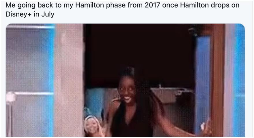 'Hamilton' Phase And #HamilFilm Memes On Twitter