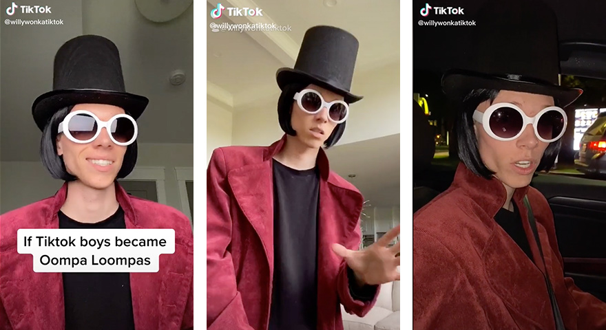 Welcome To Willy Wonka TikTok