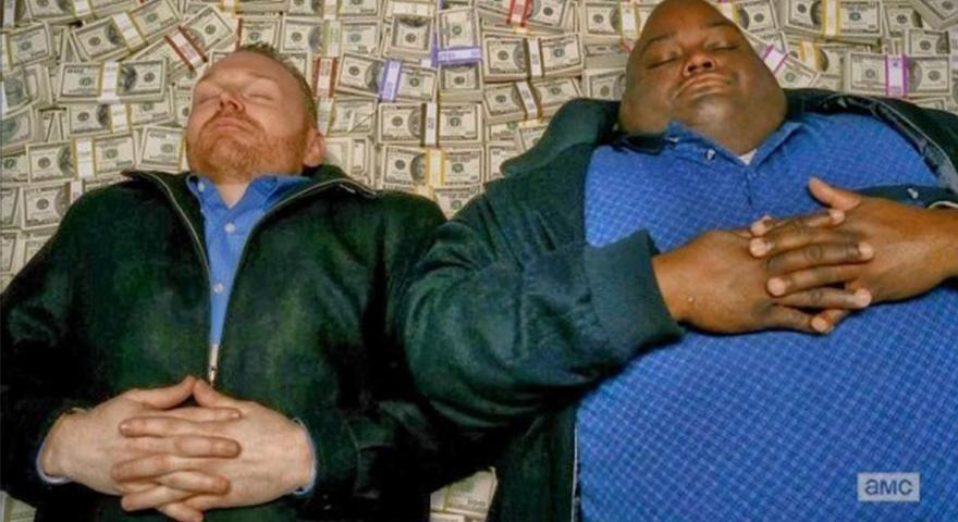 Breaking Bad Sleeping On Money Memes