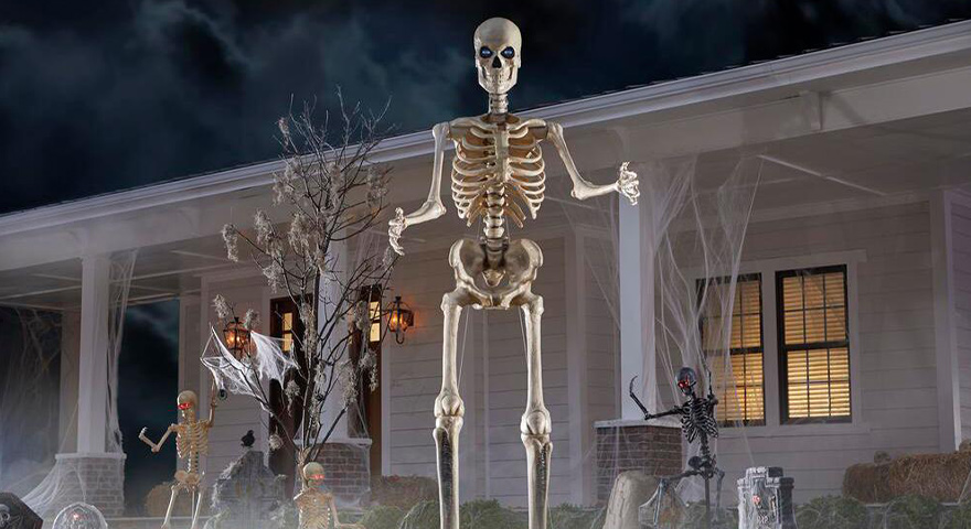 Giant Skeleton Memes – Home Depot's 12-Foot Skeleton