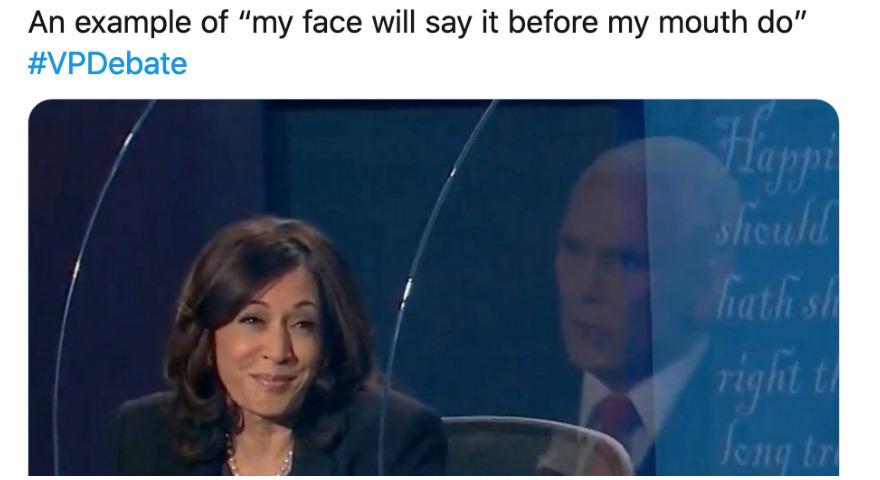 Senator Kamala Harris Smiling & Side-Eye Memes