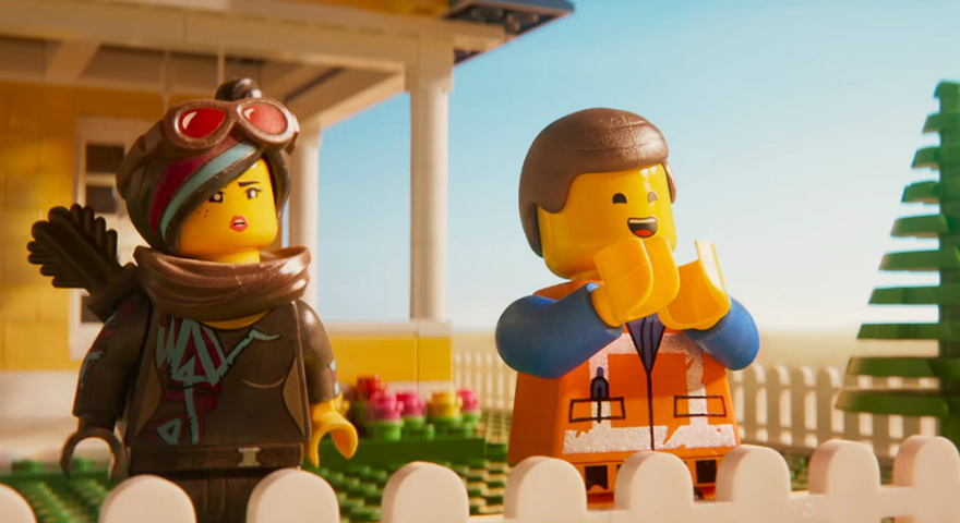 Confused/Angry Woman (Lucy) + Clapping Man (Emmett) Lego Memes