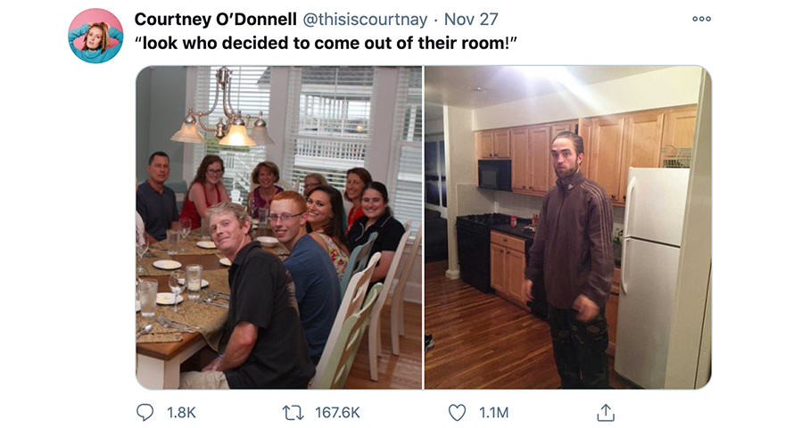 'Look who decided to come out of their room' Family Dinner Memes