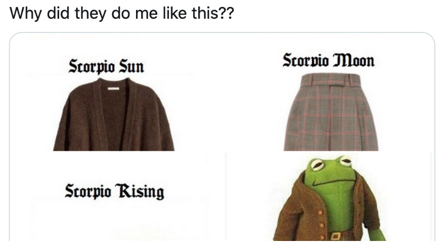 This Astrological Twitter Chart Determines Your Cottagecore Outfit