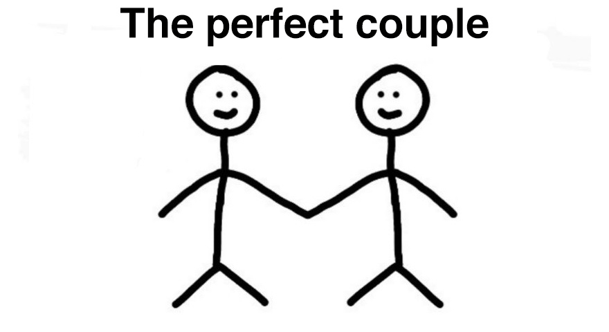 The Perfect Couple Memes – Stick Figures Holding Hands