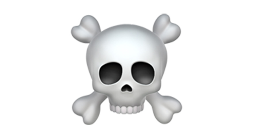 What Does The Skull And Crossbones Emoji ☠️ Mean?