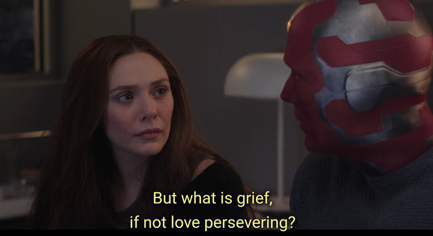 'But What Is…If Not Persevering' WandaVision Memes