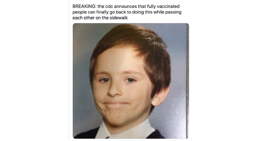 """""""Breaking: Fully Vaccinated People"""" Memes"""