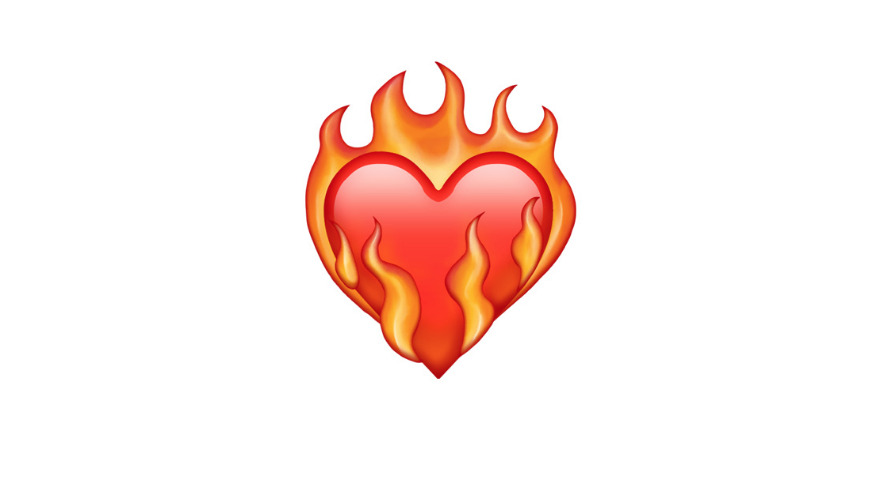 What Does Heart On Fire Emoji Mean?